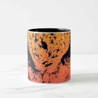 Hibou ! ! mug bicolore