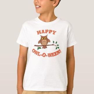 Hibou-o-ween - T-shirt personnalisable de