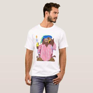 Hibou somnolent de Noël T-shirt