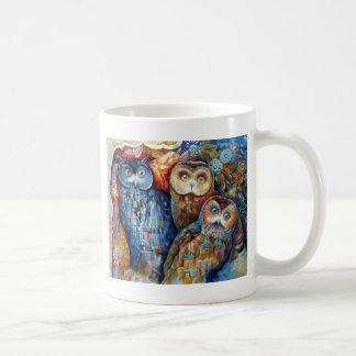Hiboux médiévaux mug