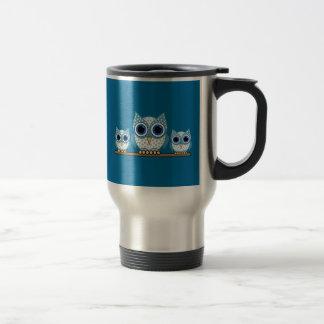 hiboux mug de voyage