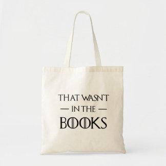Hilare qui n'était pas dans les livres a obtenu la tote bag