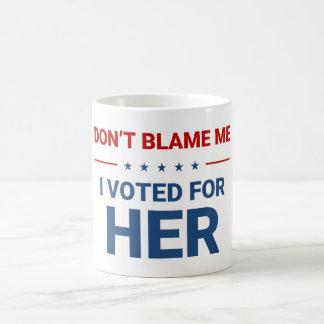Hillary Clinton, tasse de café d'Anti-Atout