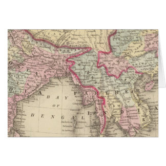 Hindoostan, Inde plus lointaine, Chine, Thibet 2 Carte