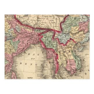 Hindoostan, Inde plus lointaine, Chine, Thibet Carte Postale