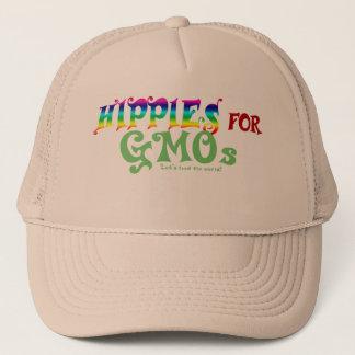 Hippies pour le casquette d'OGM