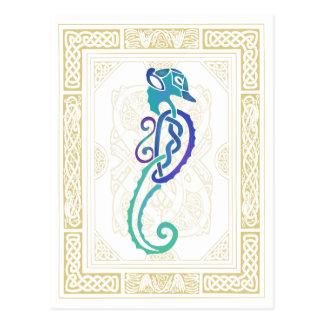 Hippocampe celtique carte postale
