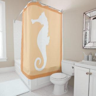 Hippocampe de pêche rideaux de douche