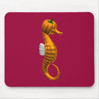 Hippocampe drôle de Halloween Tapis De Souris