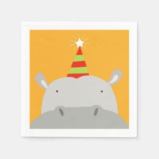 Hippopotame de partie serviettes en papier