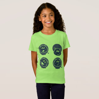 Hippopotame de safari de T-shirt de concepteurs