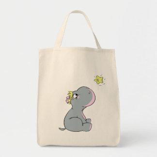 Hippopotame et étoile !  tote bag
