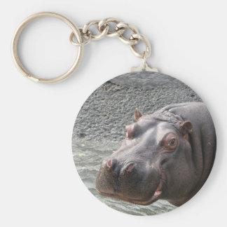 Hippopotame hardi ! porte-clés
