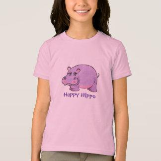Hippopotame heureux - T-shirt