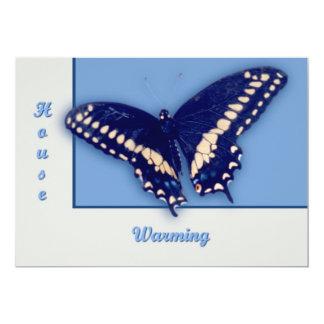 Hirondelle noire Longtail Carton D'invitation 12,7 Cm X 17,78 Cm