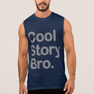 Histoire fraîche Bro. T-shirt Sans Manches