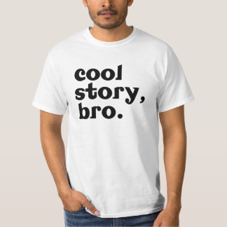 histoire fraîche, chemise de bro t-shirt