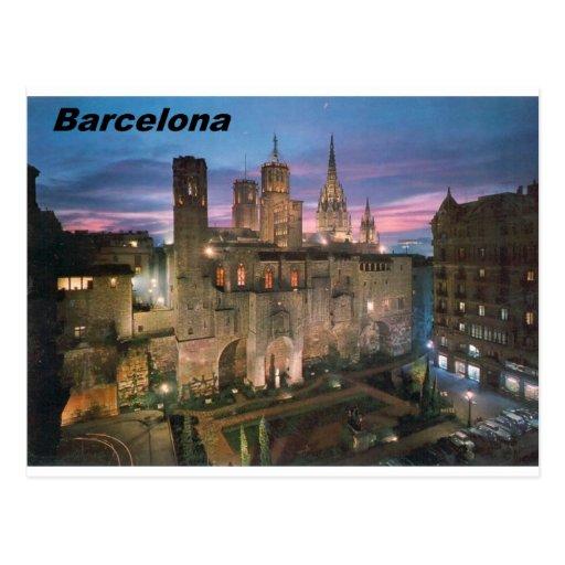 historia --Barcelone--banlieue--gotico Angie Carte Postale