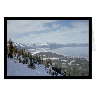 Hiver dans la chanson de Tahoe- du solénoïde. Carte