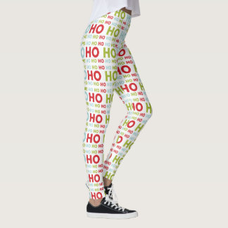 Ho Ho Ho motif de Père Noël de Noël Leggings