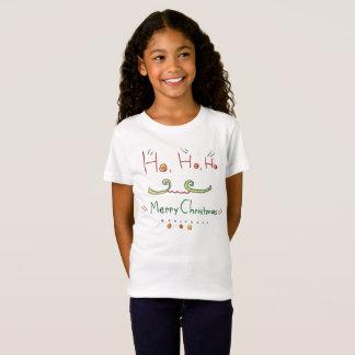 HO HO HO T-shirt de Joyeux Noël
