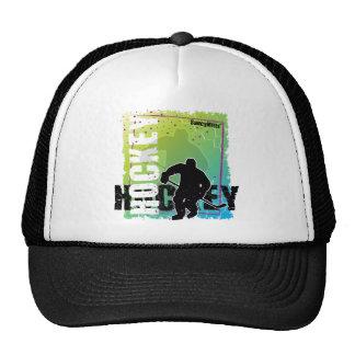 Hockey abstrait (mâle) casquette trucker