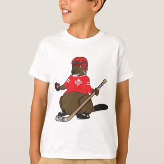 Hockey de castor du Canada 150 en 2017 T-shirt