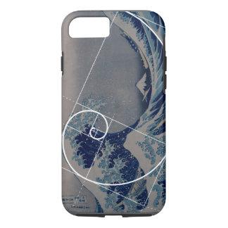 Hokusai ontmoet Fibonacci, Gouden Verhouding iPhone 7 Hoesje