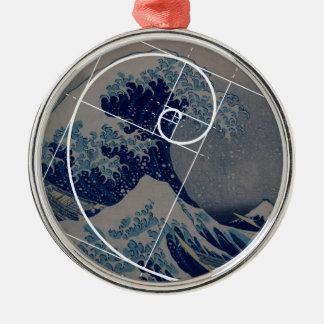 Hokusai ontmoet Fibonacci, Gouden Verhouding Ornament