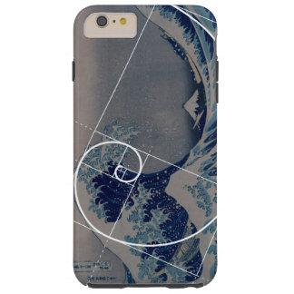 Hokusai ontmoet Fibonacci, Gouden Verhouding Tough iPhone 6 Plus Hoesje