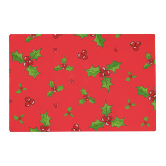 HollyBerry Placemats Gelamineerde Placemat