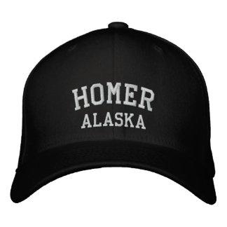 Homer, Alaska Casquettes De Baseball Brodées