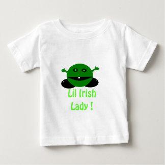 homme bleu, Madame d'Irlandais de Lil ! T-shirt Pour Bébé