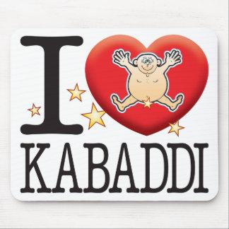 Homme d'amour de Kabaddi Tapis De Souris