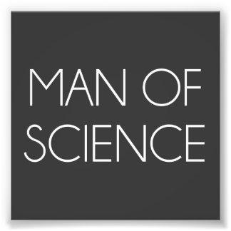Homme de la Science Photos D'art