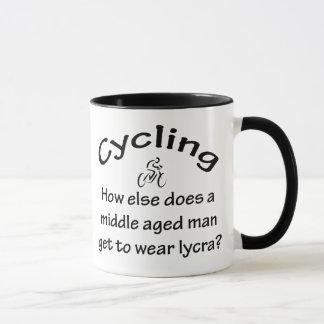 Homme de recyclage mug