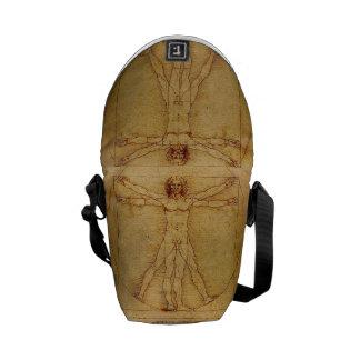 Homme de Vitruvian par Leonardo da Vinci Sacoches