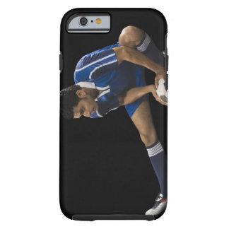 Homme jouant au football coque iPhone 6 tough