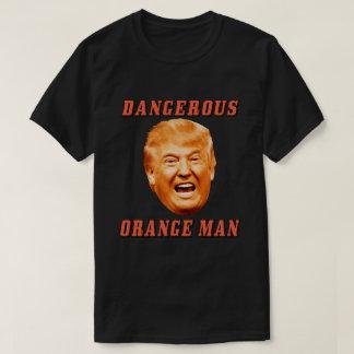 Homme orange dangereux de la chemise | de Donald T-shirt