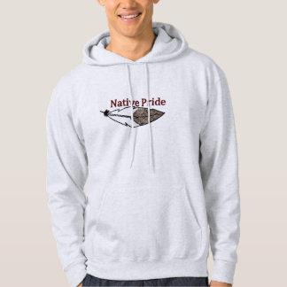 Hommes indigènes de fierté veste à capuche