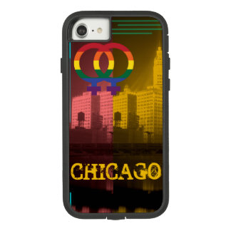 Homosexuel coloré de fierté d'intérêt lesbien de coque Case-Mate tough extreme iPhone 8/7