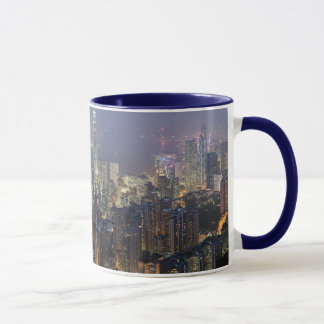 Hong Kong skyline mug