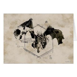 Hongaarse Draak Horntail Kaart