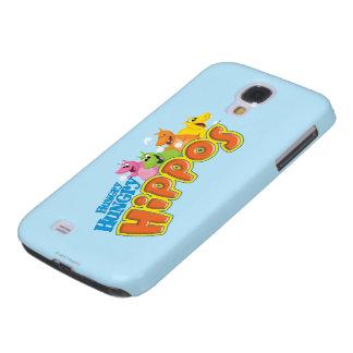 Hongerige Hongerige Hippos Galaxy S4 Hoesje