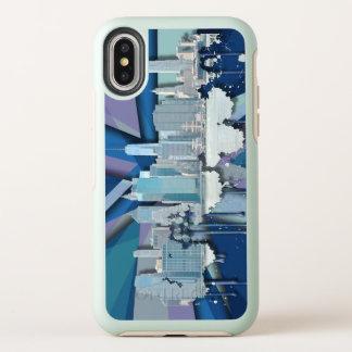 Horizon | 3D bleu de New York City