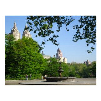 Horizon de Central Park Carte Postale