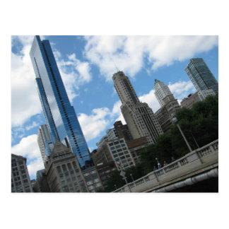 Horizon de Chicago Carte Postale