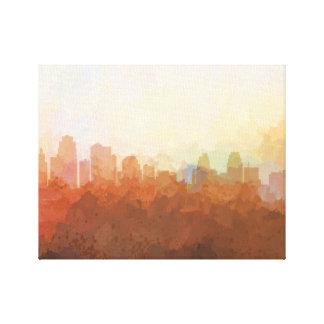 HORIZON de KANSAS CITY - dans la toile de nuages