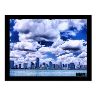 Horizon de Miami - carte postale