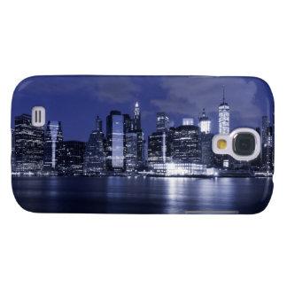 Horizon de New York baigné dans le bleu Coque Galaxy S4